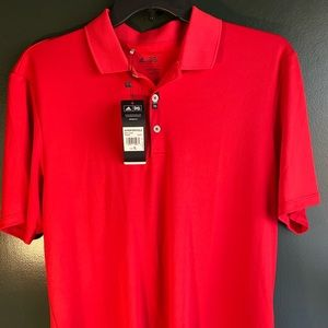 Adidas Red Polo BRAND NEW
